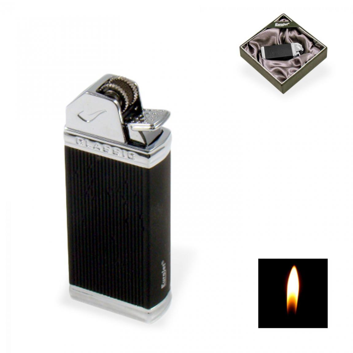 EuroJet »Pipe« Pfeifenfeuerzeug, schwarz Soft Touch