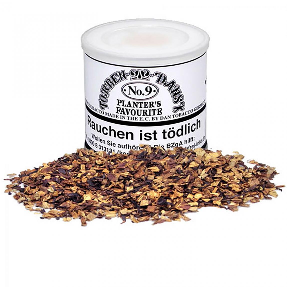Torben Dansk No. 9 Planter's Delight - weich & lieblich, duftiges Aroma