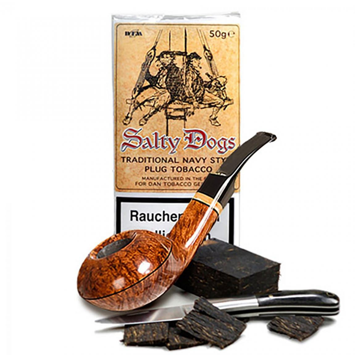 Salty Dogs »Plug Tobacco« 50g Pouch