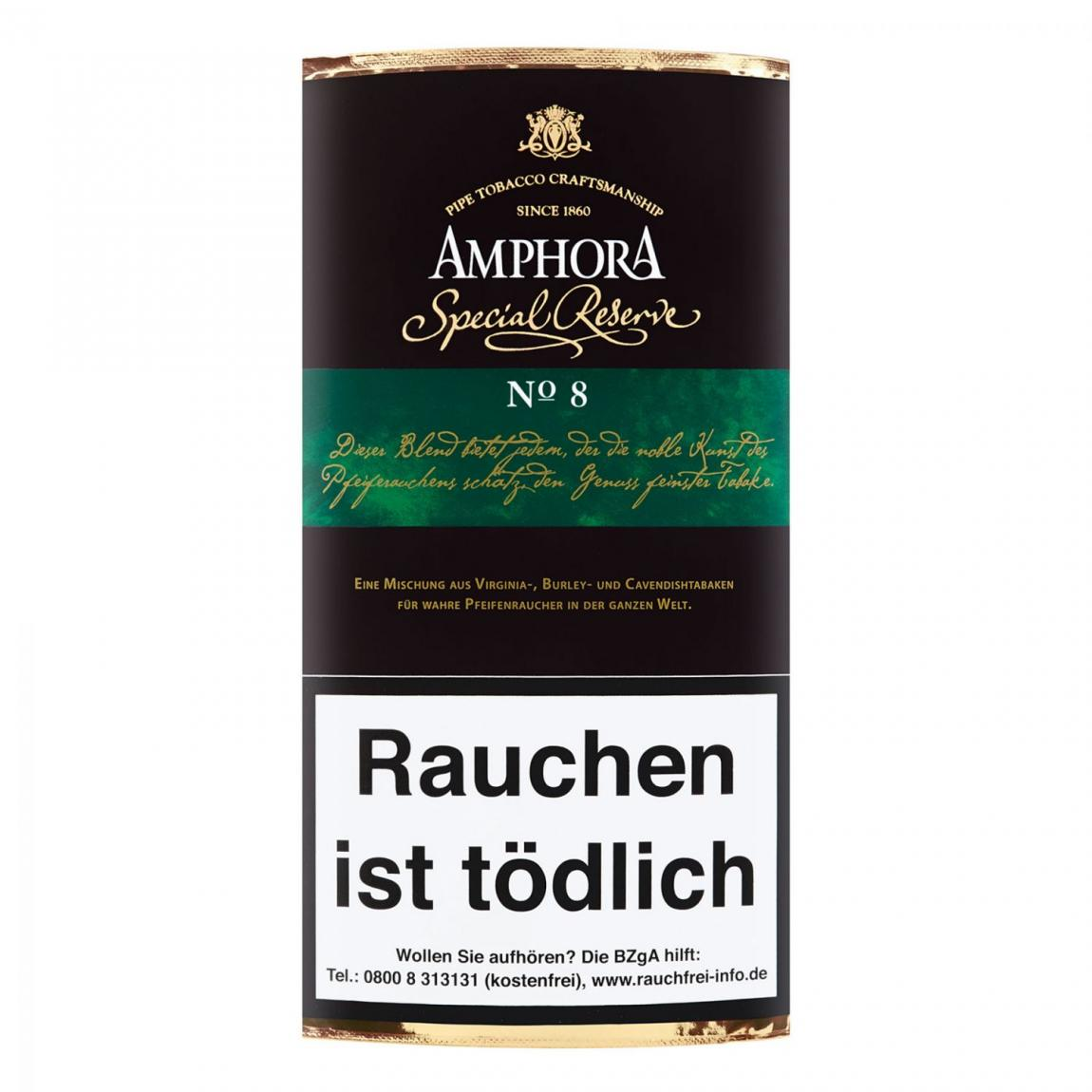 Amphora »Special Reserve No. 8« 50g Pouch