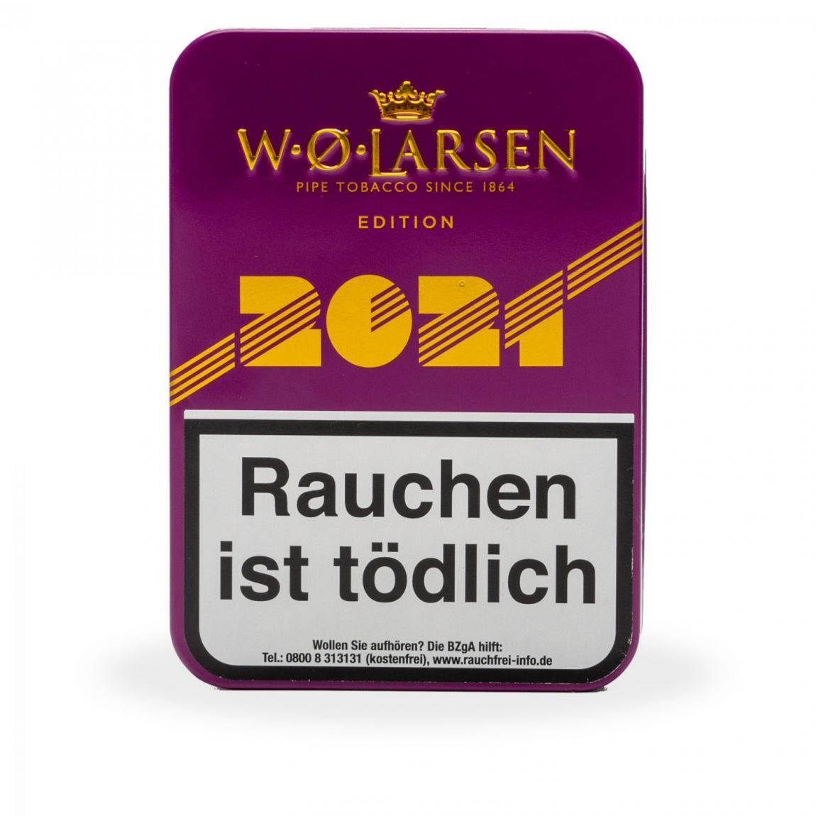 W. Ø. Larsen »2021« Jahresedition 100g Schmuckdose