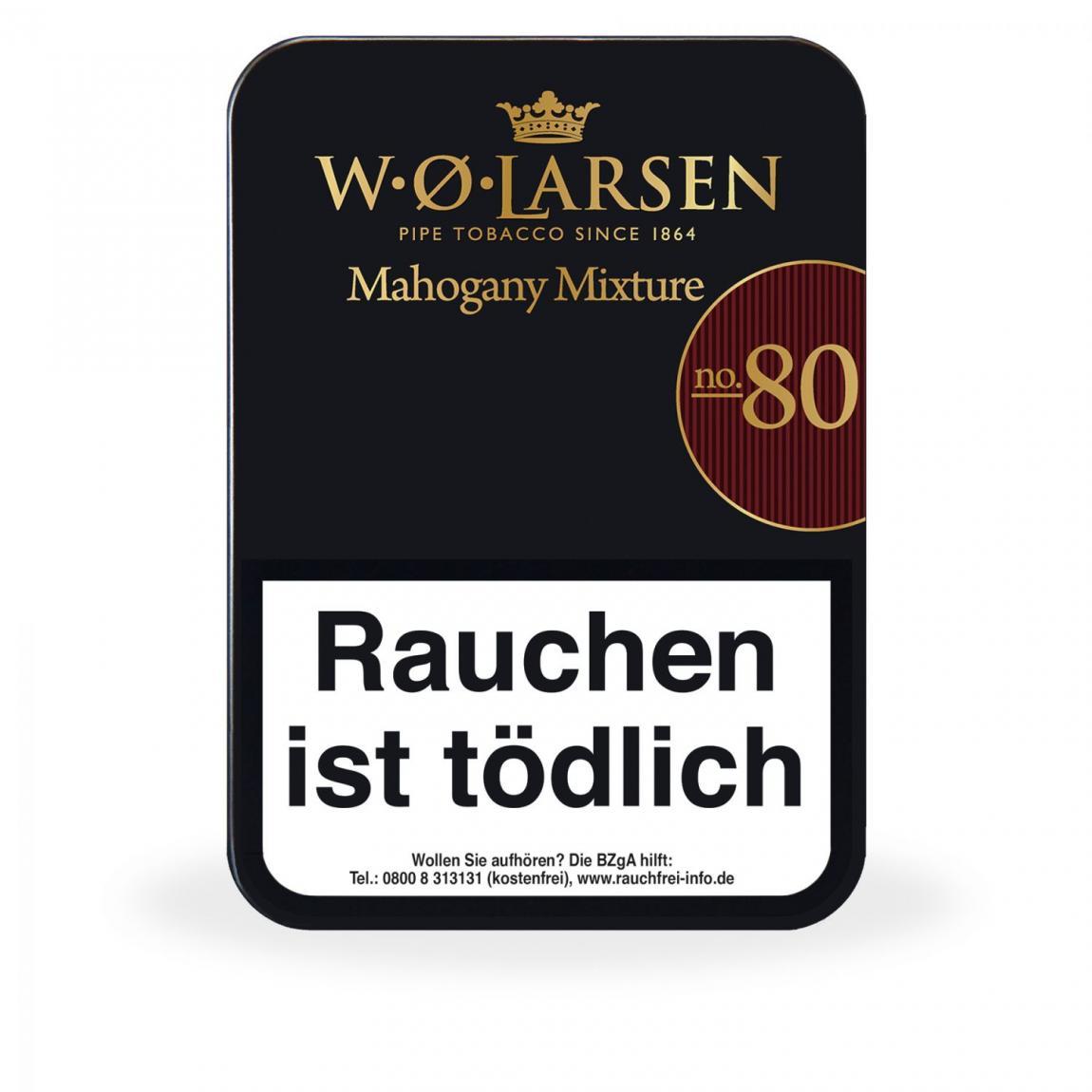 W. Ø. Larsen »Mahogany Mixture No. 80« 100g Dose