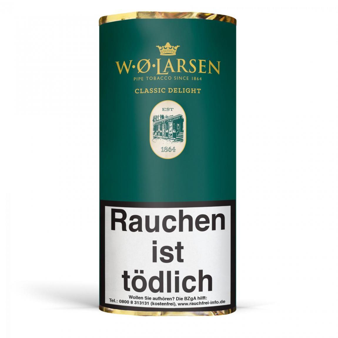 W. Ø. Larsen »Classic Delight« 50g Pouch