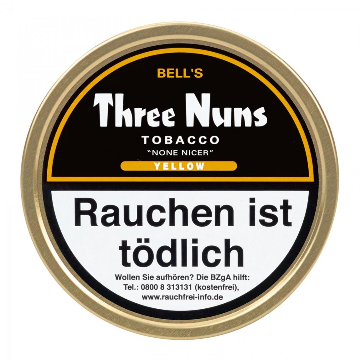 Bell's Three Nuns »None Nicer« Yellow 50g Dose