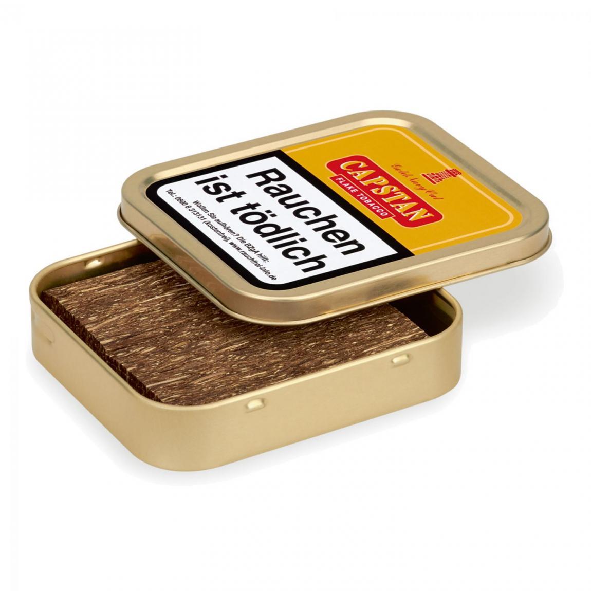 CAPSTAN Gold Navy Cut (gelb) 50g Dose