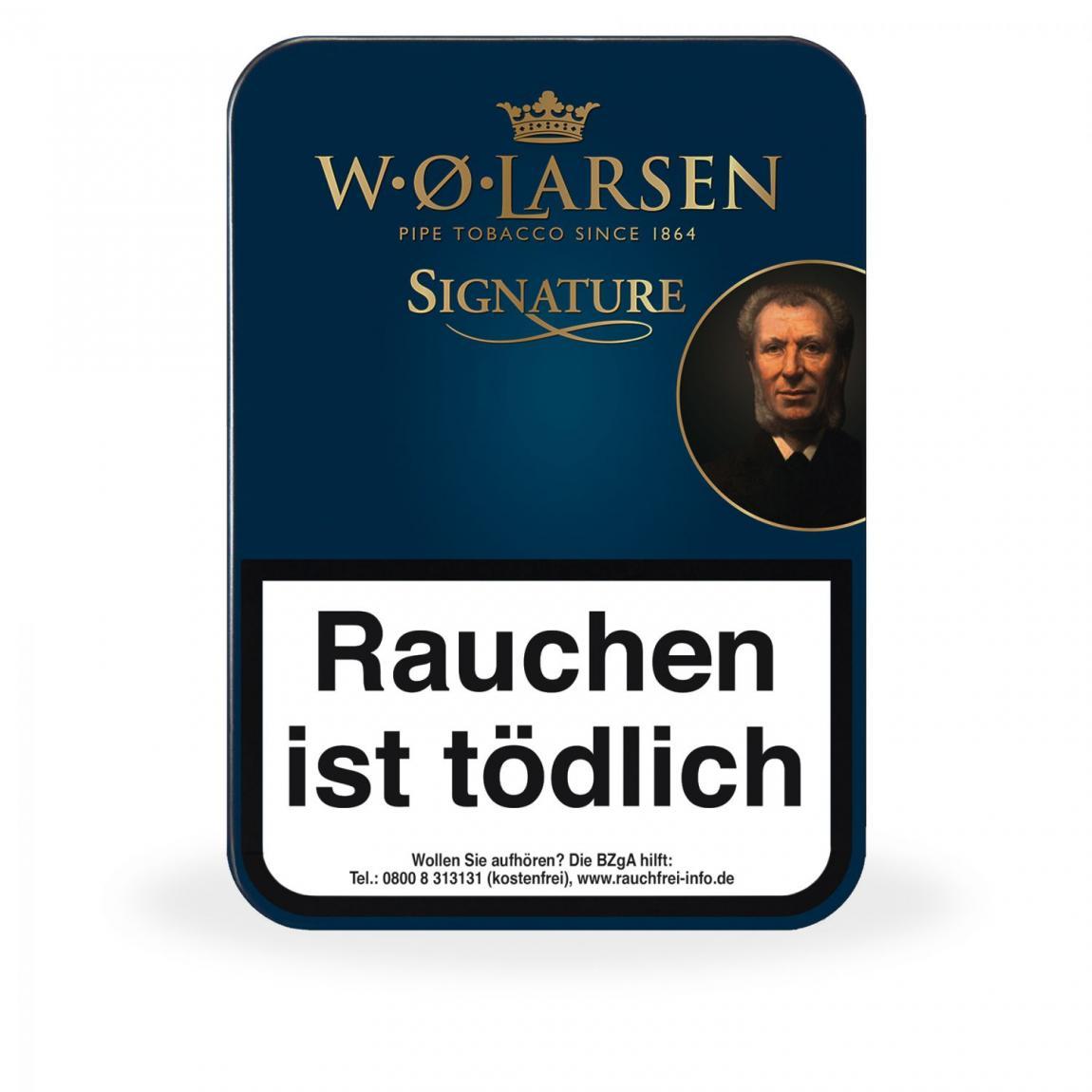 W. Ø. Larsen »Signature«