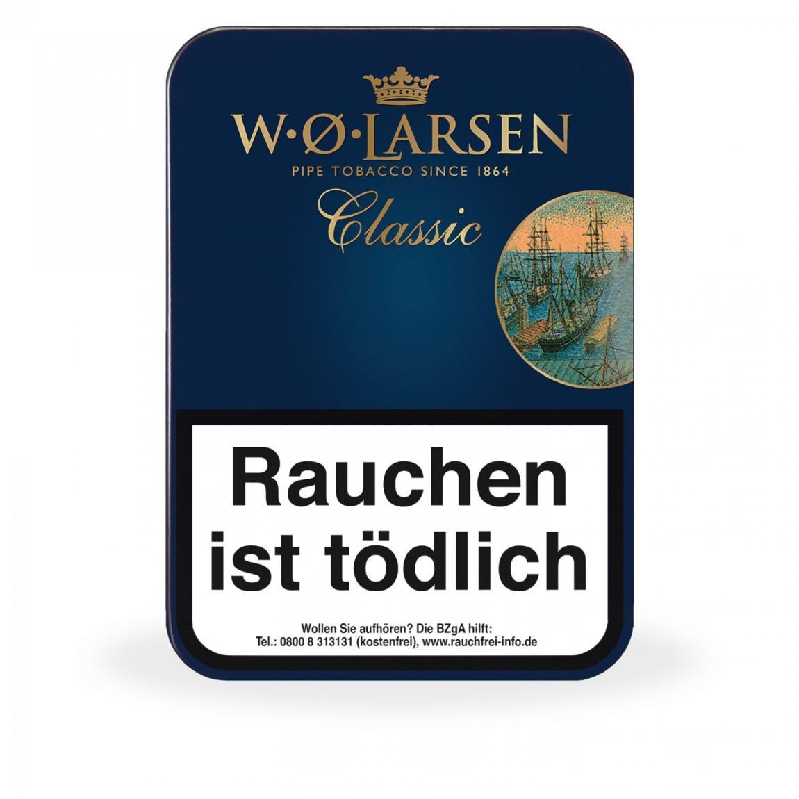 W. Ø. Larsen »Classic« 100g Dose