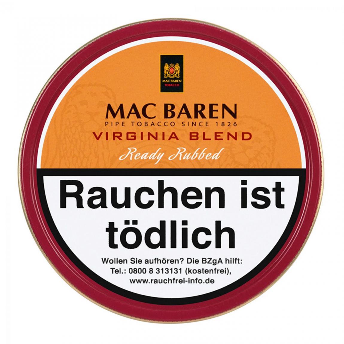 Mac Baren »Virginia Blend« Ready Rubbed