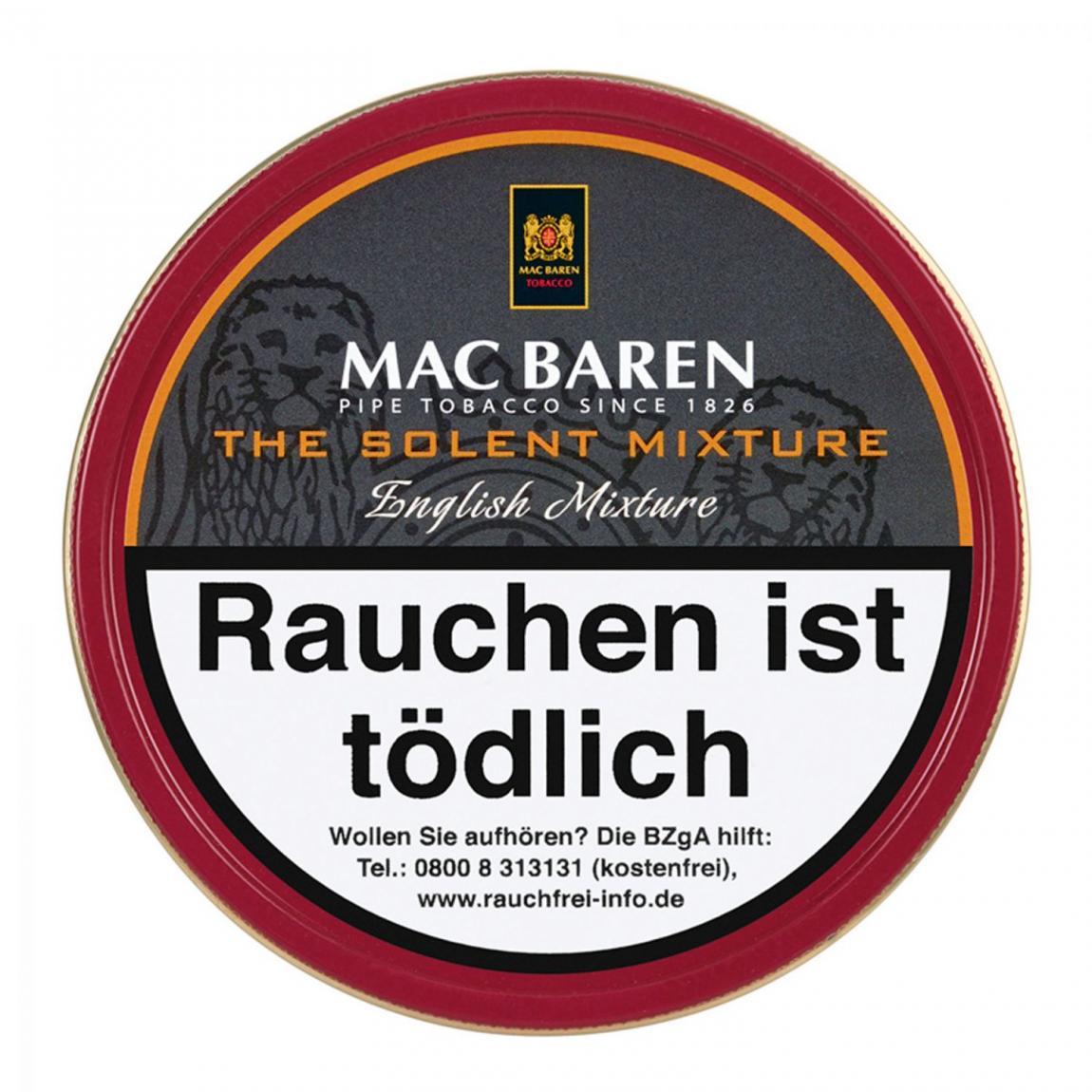 Mac Baren »The Solent« English Mixture 100g Dose