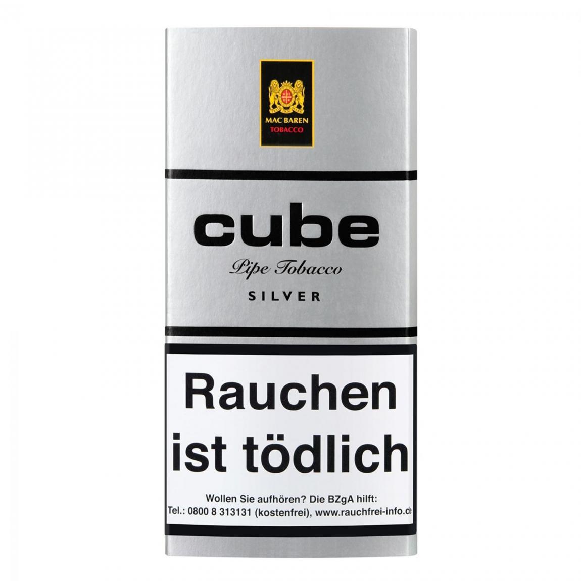 Mac Baren »Cube Silver« 40g Pouch