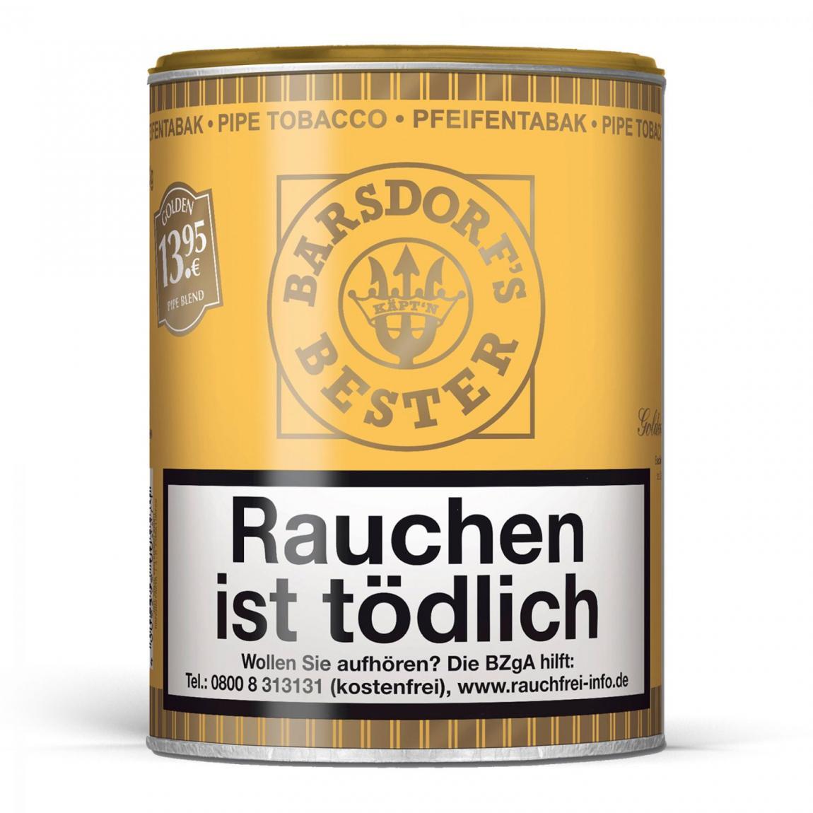 Barsdorf's Bester »Golden Pipe Blend« 160g Dose