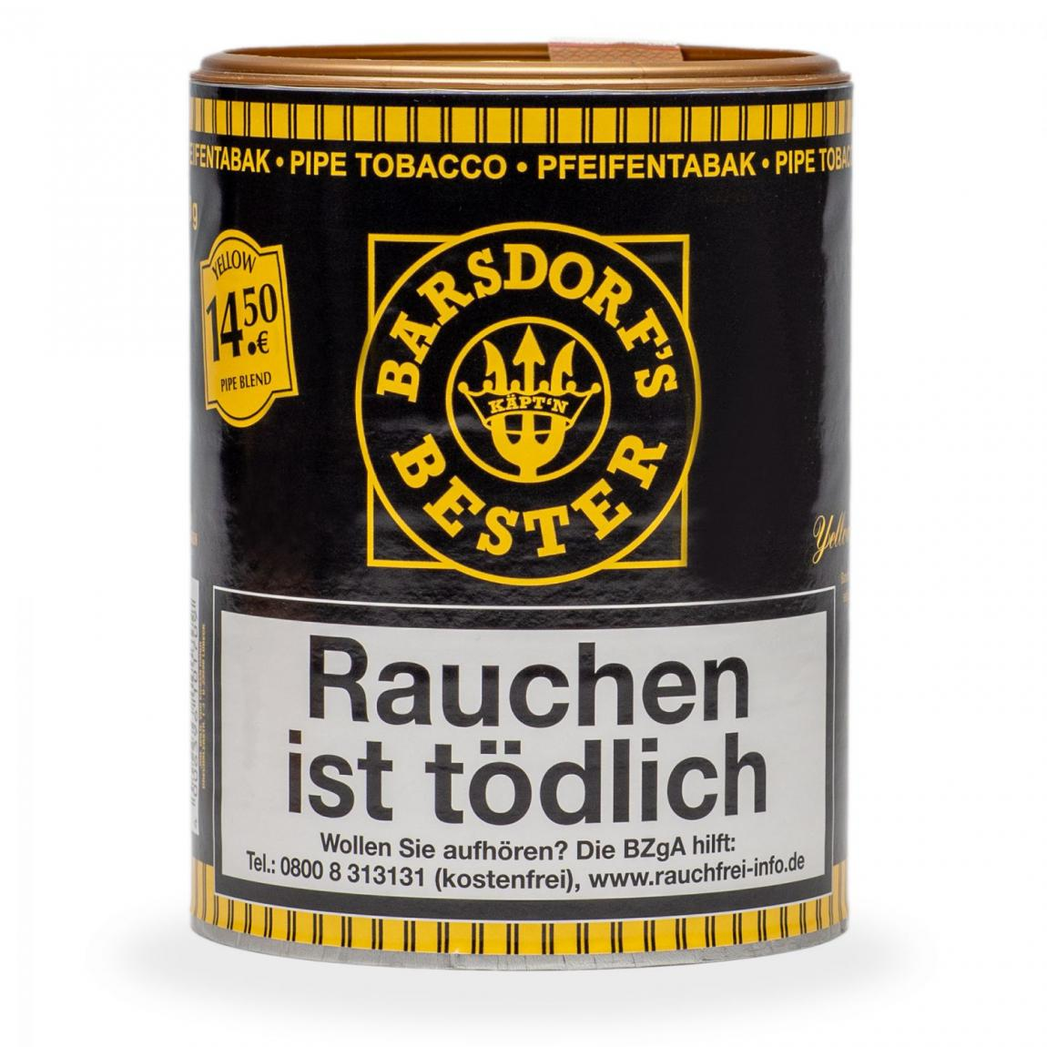 Barsdorf's Bester »Yellow Pipe Blend« 160g Dose