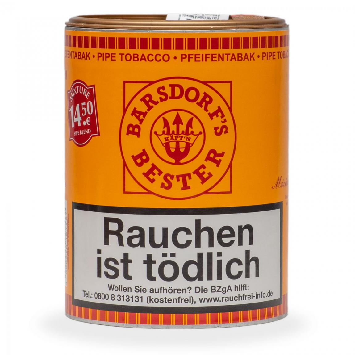Barsdorf's Bester »Mixture Pipe Blend« 160g Dose