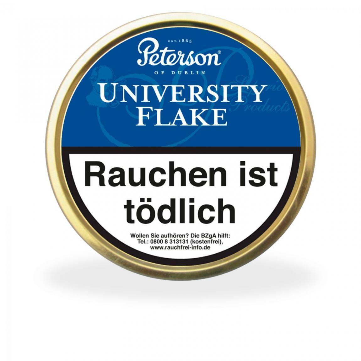 Peterson's »University Flake« 50g Dose