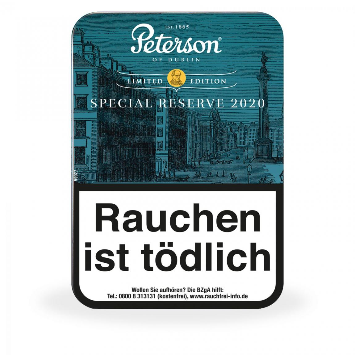 Peterson »Special Reserve 2020« Limited Edition, 100g