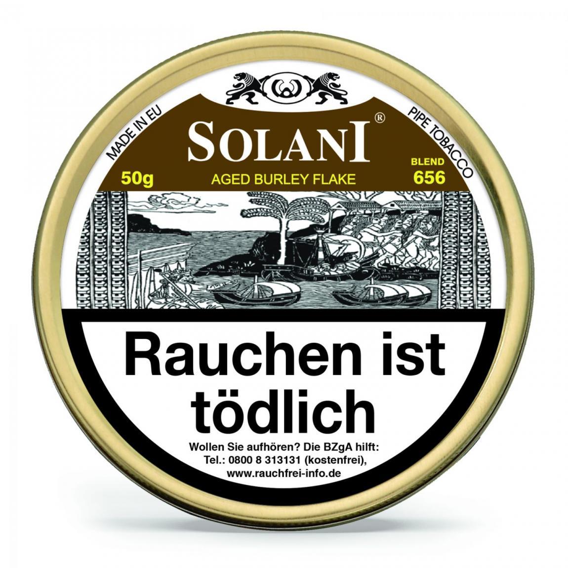 Solani Blend 656 »Aged Burley Flake« 50g Dose