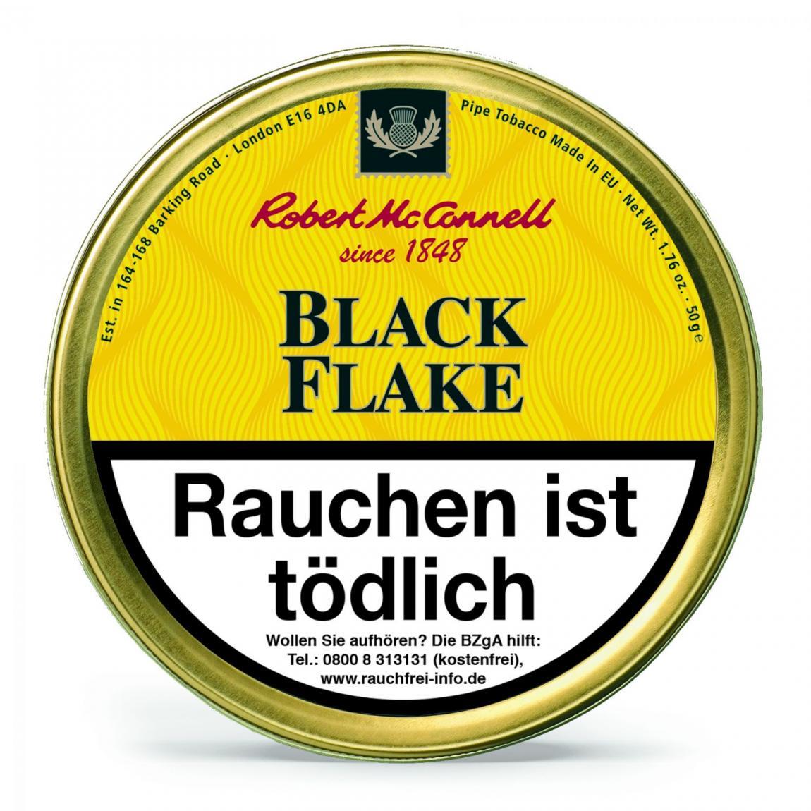 Robert McConnell Heritage »Black Flake« 50g