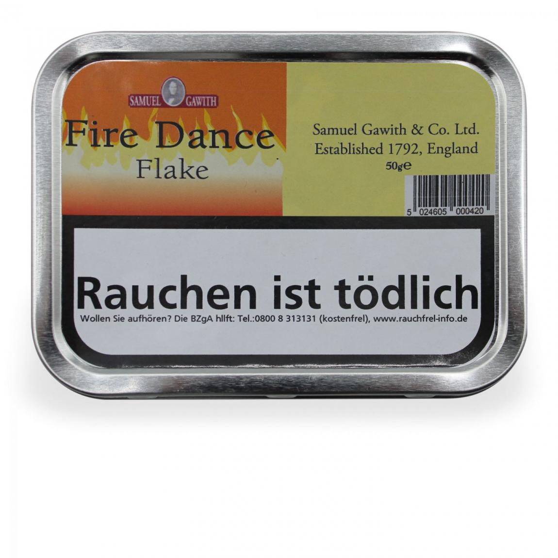 Samuel Gawith »Fire Dance Flake« 50g Dose