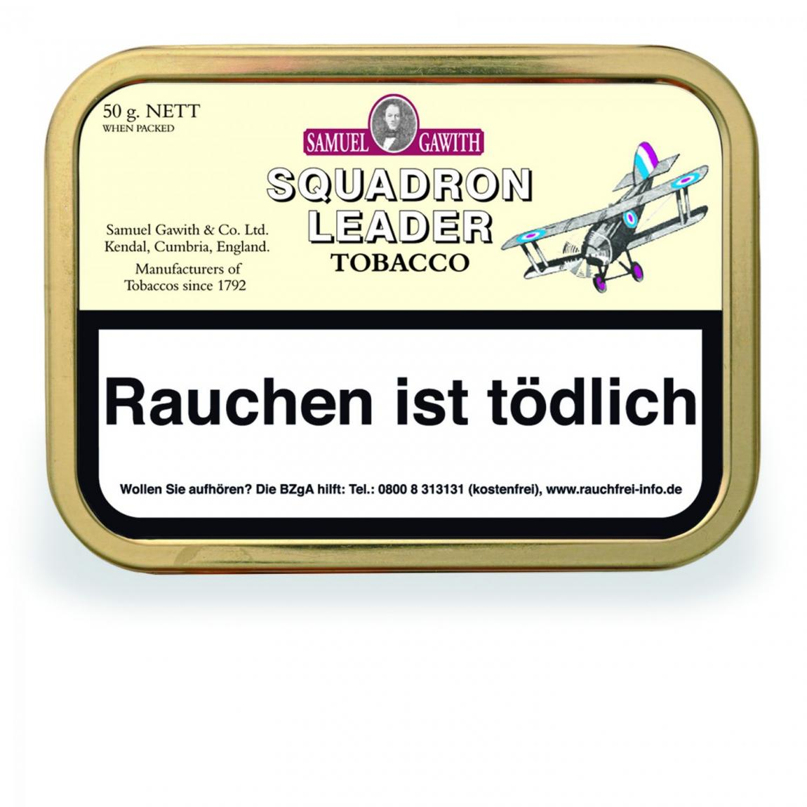 Samuel Gawith »Squadron Leader Tobacco« 50g Dose
