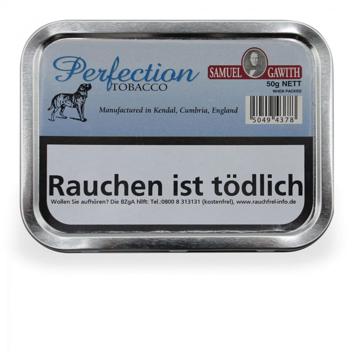 Samuel Gawith »Perfection Tobacco« 50g Dose