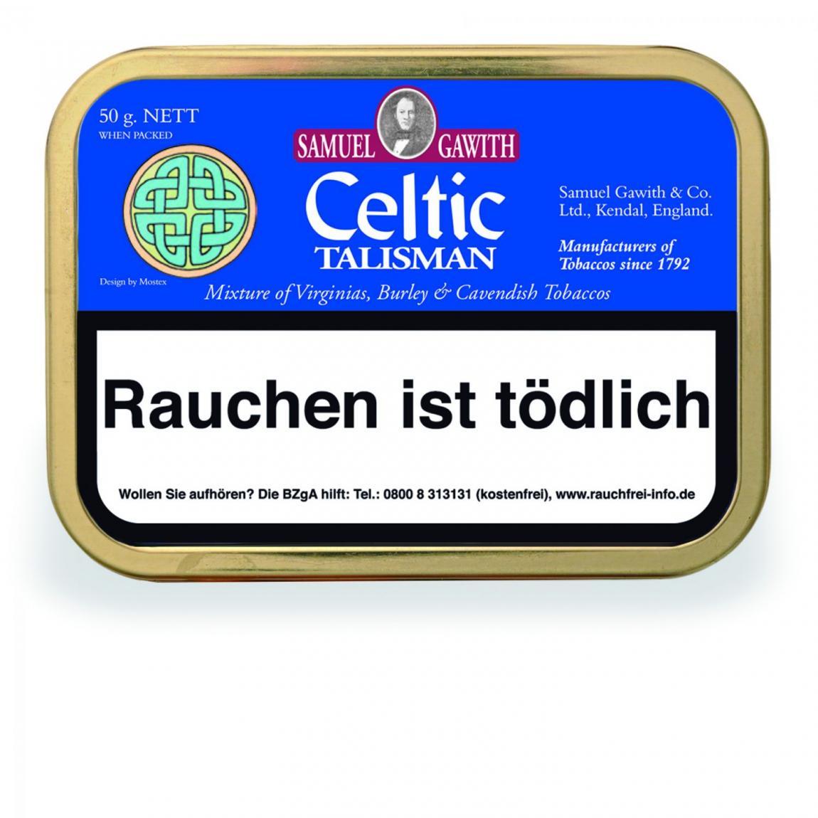 Samuel Gawith »Celtic Talisman Mixture« 50g Dose