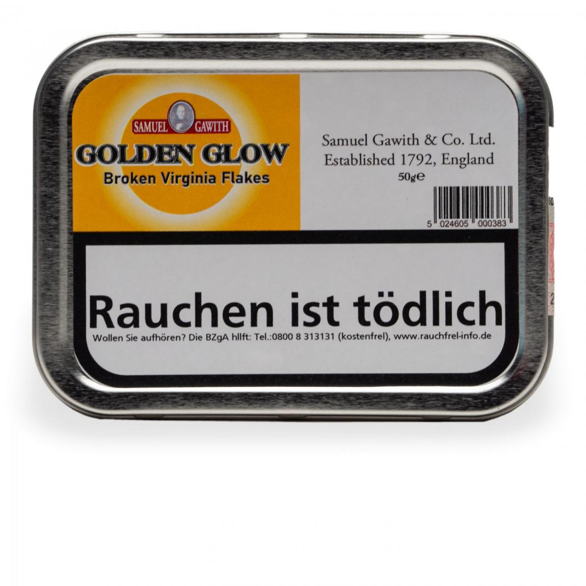 Samuel Gawith »Golden Glow Flake« 50g Dose