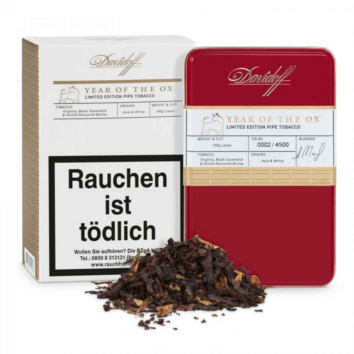 Davidoff Pipe Tobacco Limited Edition Year of the Ox 2021, 100g