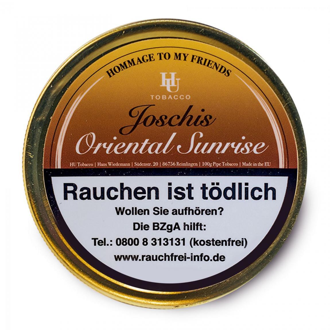 HU Tobacco »Joschis Oriental Sunrise« 100g