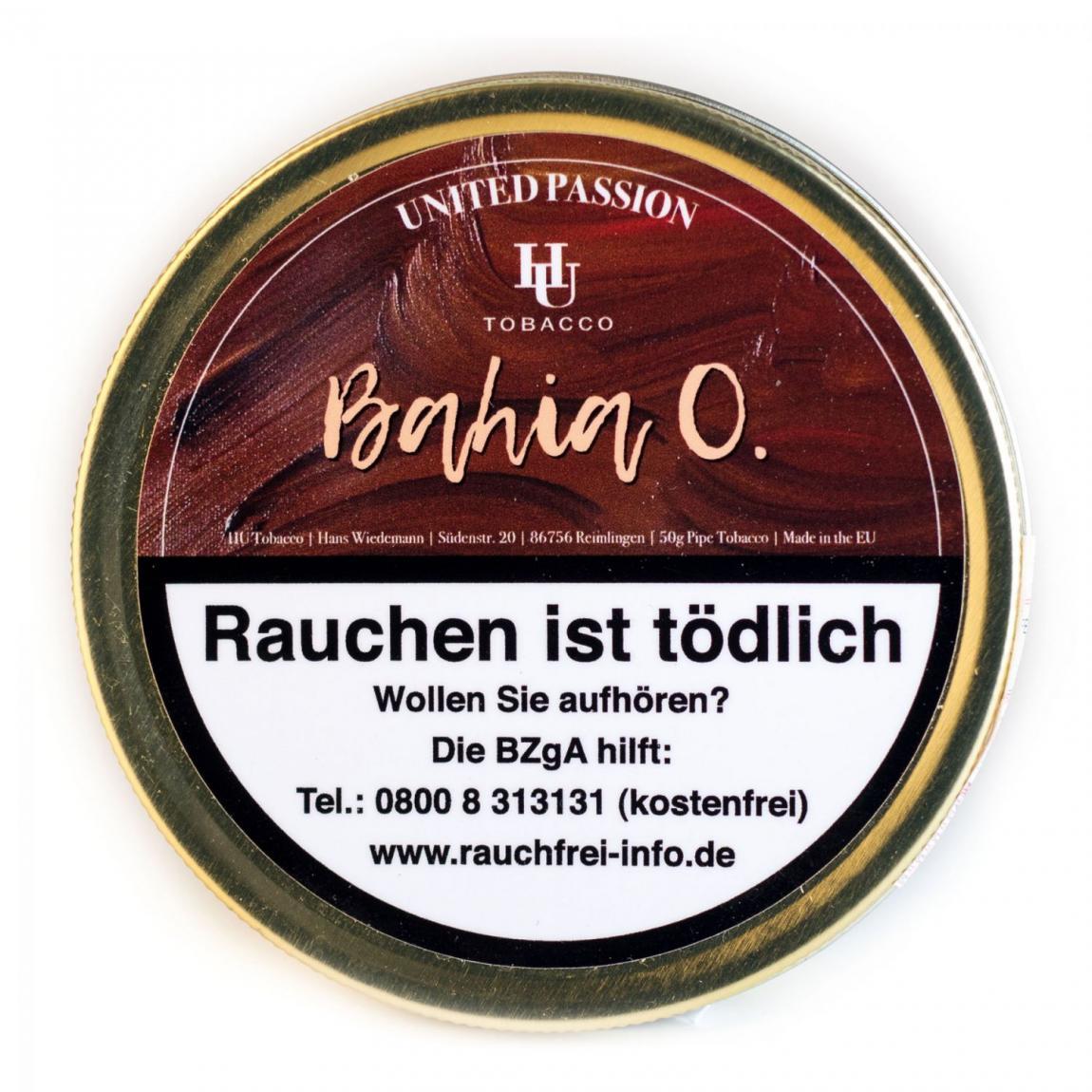 HU Tobacco »Bahia O.« 50g Dose