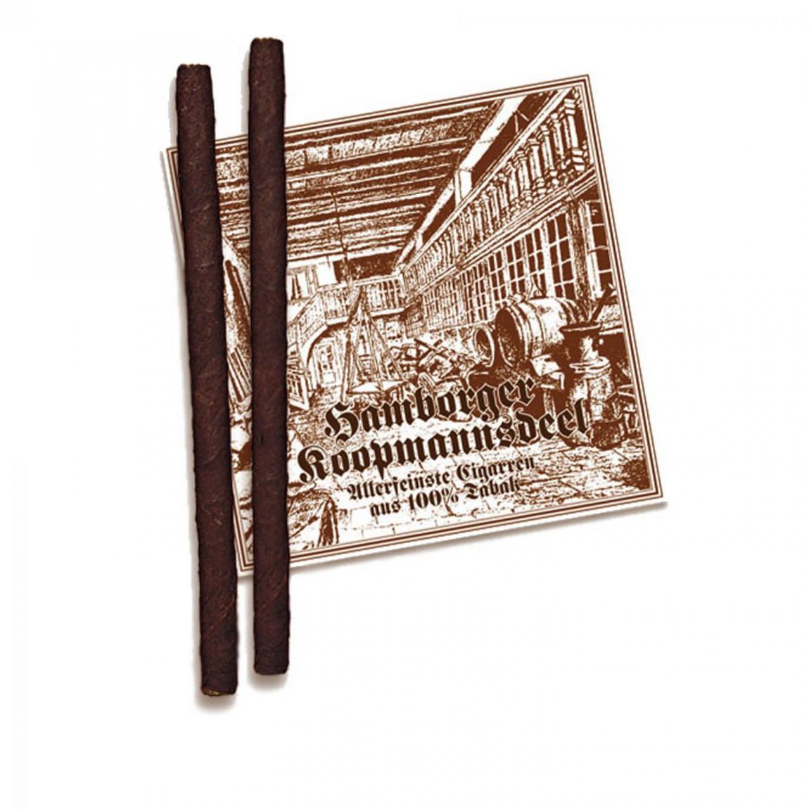 Hamborger Koopmannsdeel Brasil No. 16 Long Zigarillo 50er Kiste