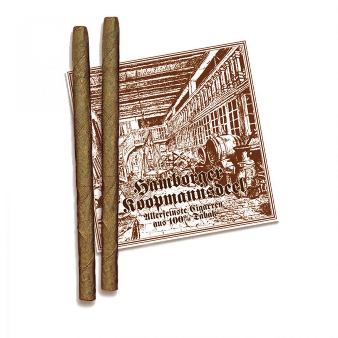Hamborger Koopmannsdeel Sumatra No. 16 Long Cigarillo 50er Kiste