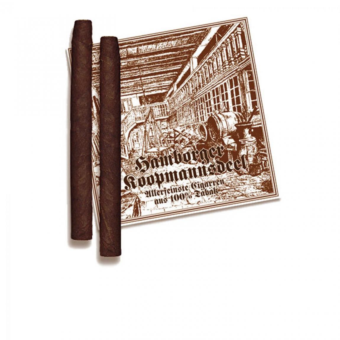 Hamborger Koopmannsdeel Brasil No. 1 Cigarillo 30er Kiste