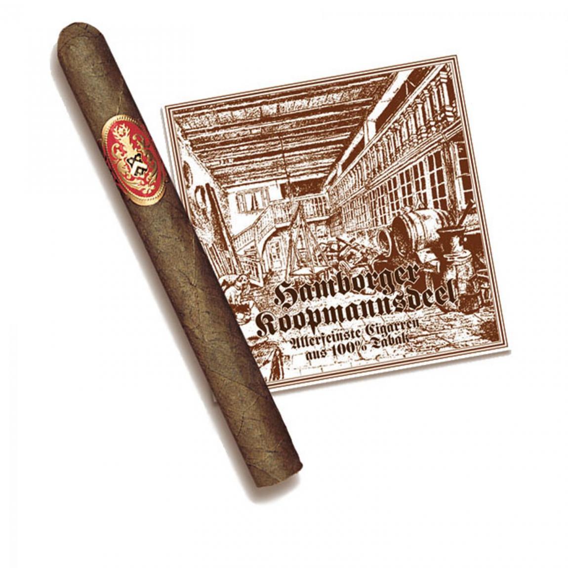 Hamborger Koopmannsdeel Sumatra No. 5 Corona 30er Kiste
