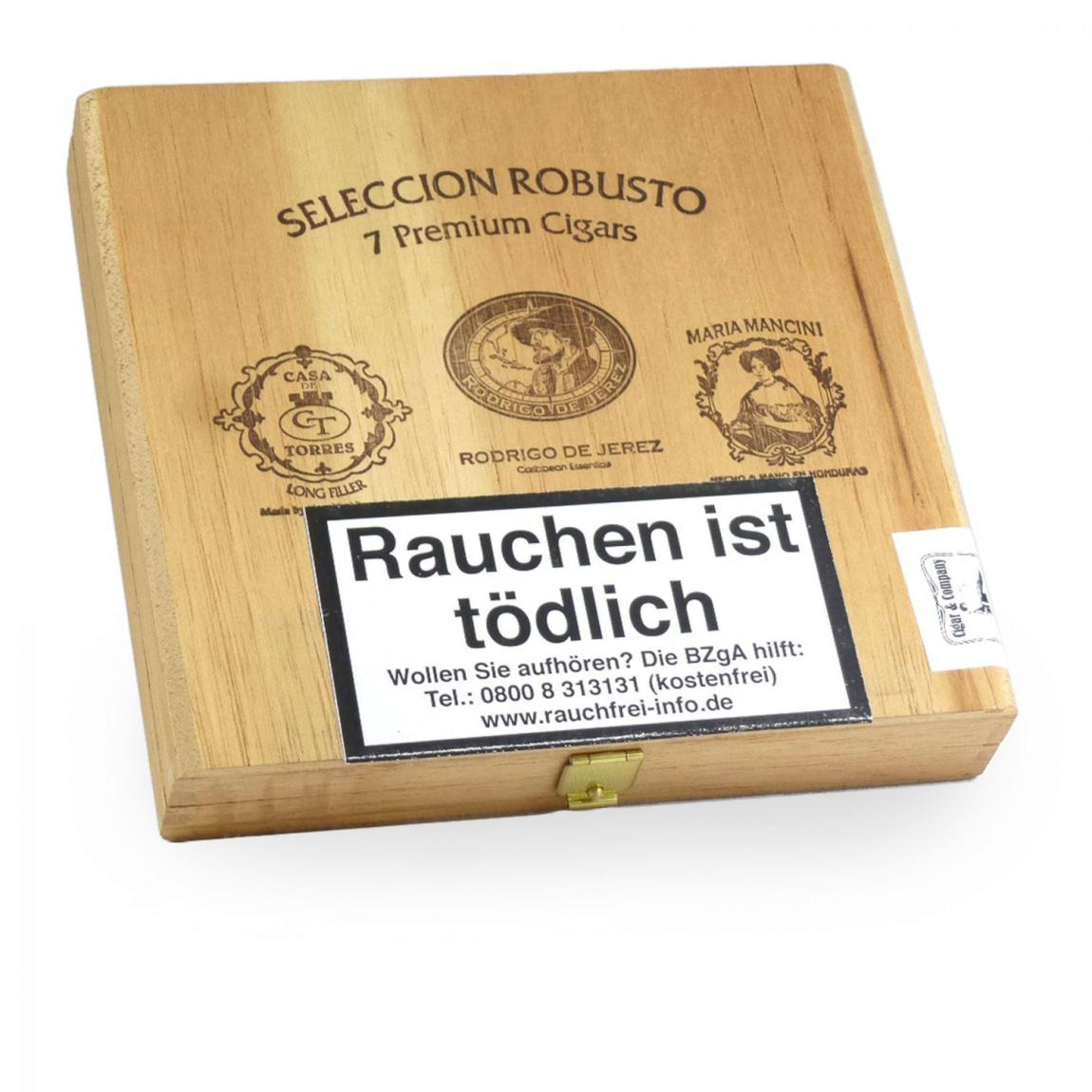 Seleccion »August Schuster« Robusto 7er Kiste