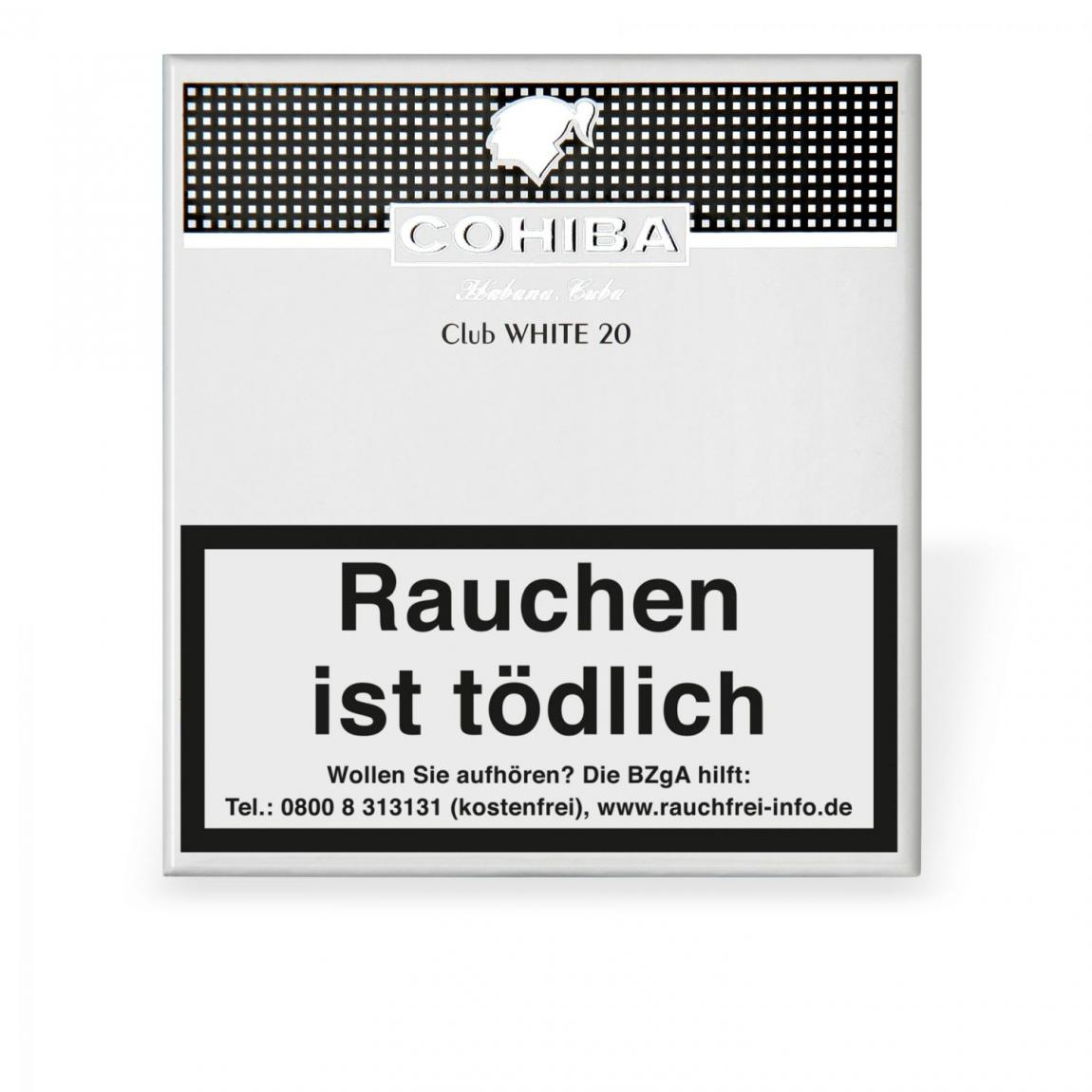 Cohiba White Club 20er Schachtel