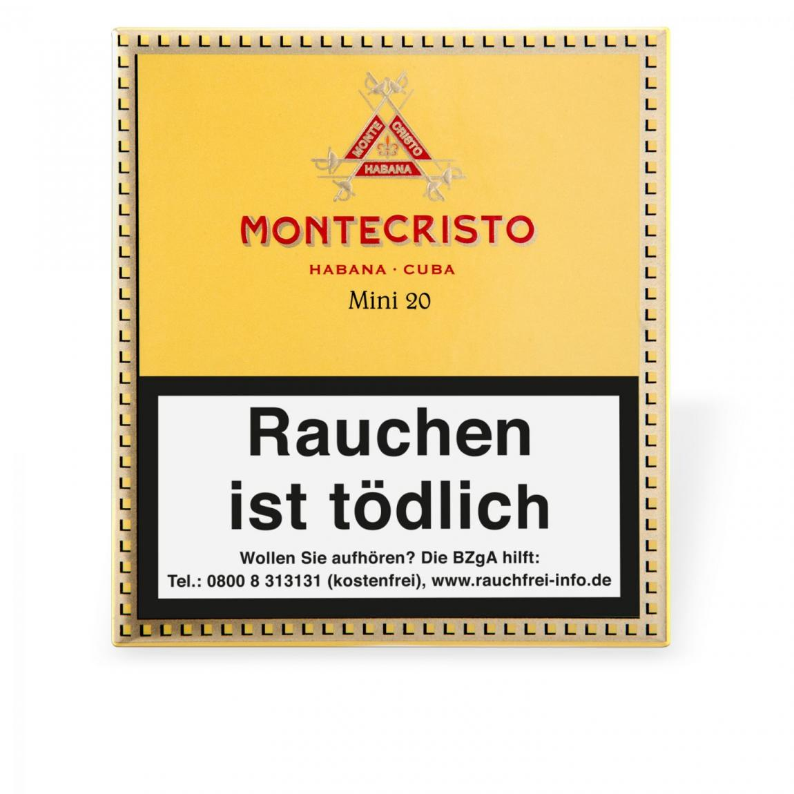 Montecristo Mini 20er Schachtel
