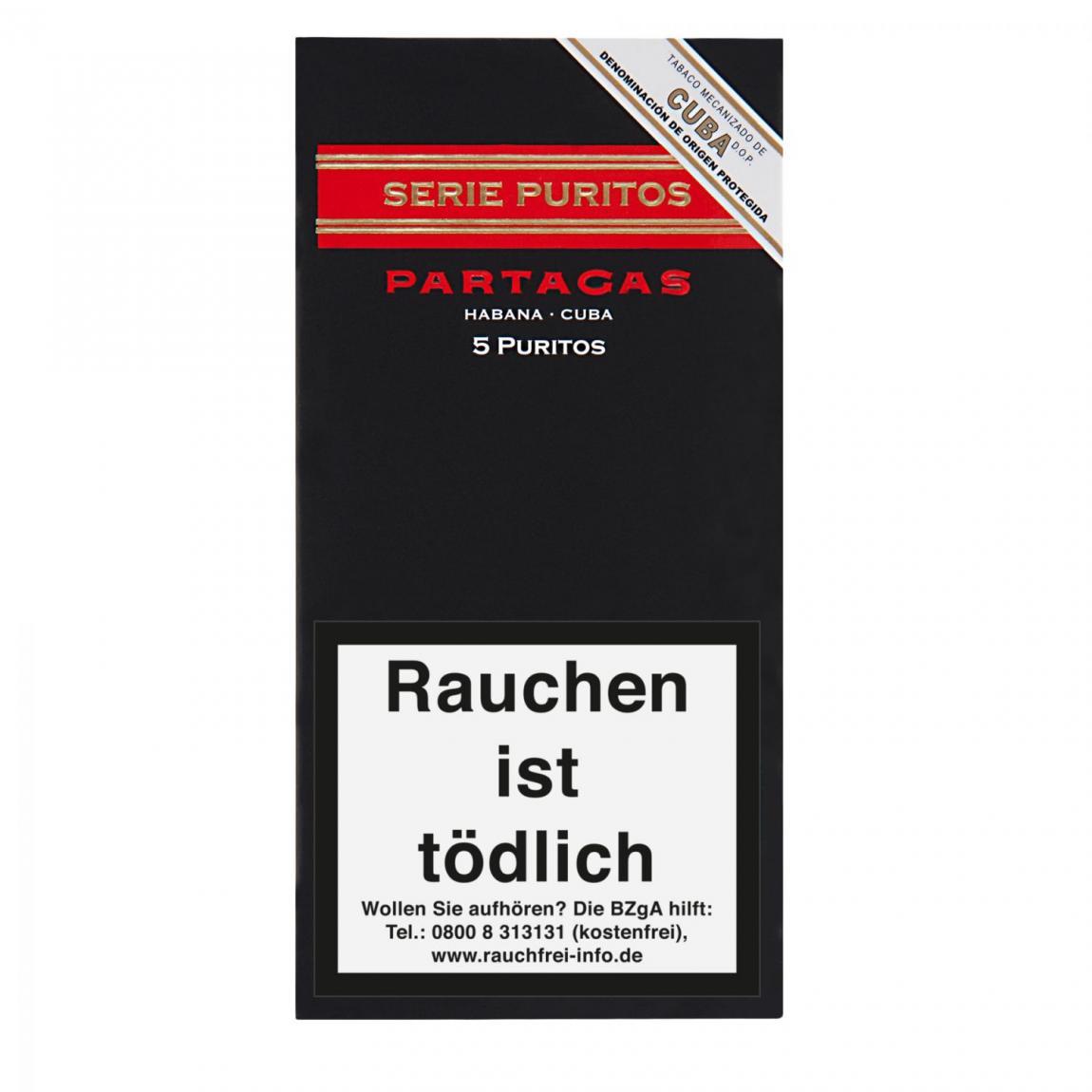 Partagás Serie Puritos 5er Schachtel