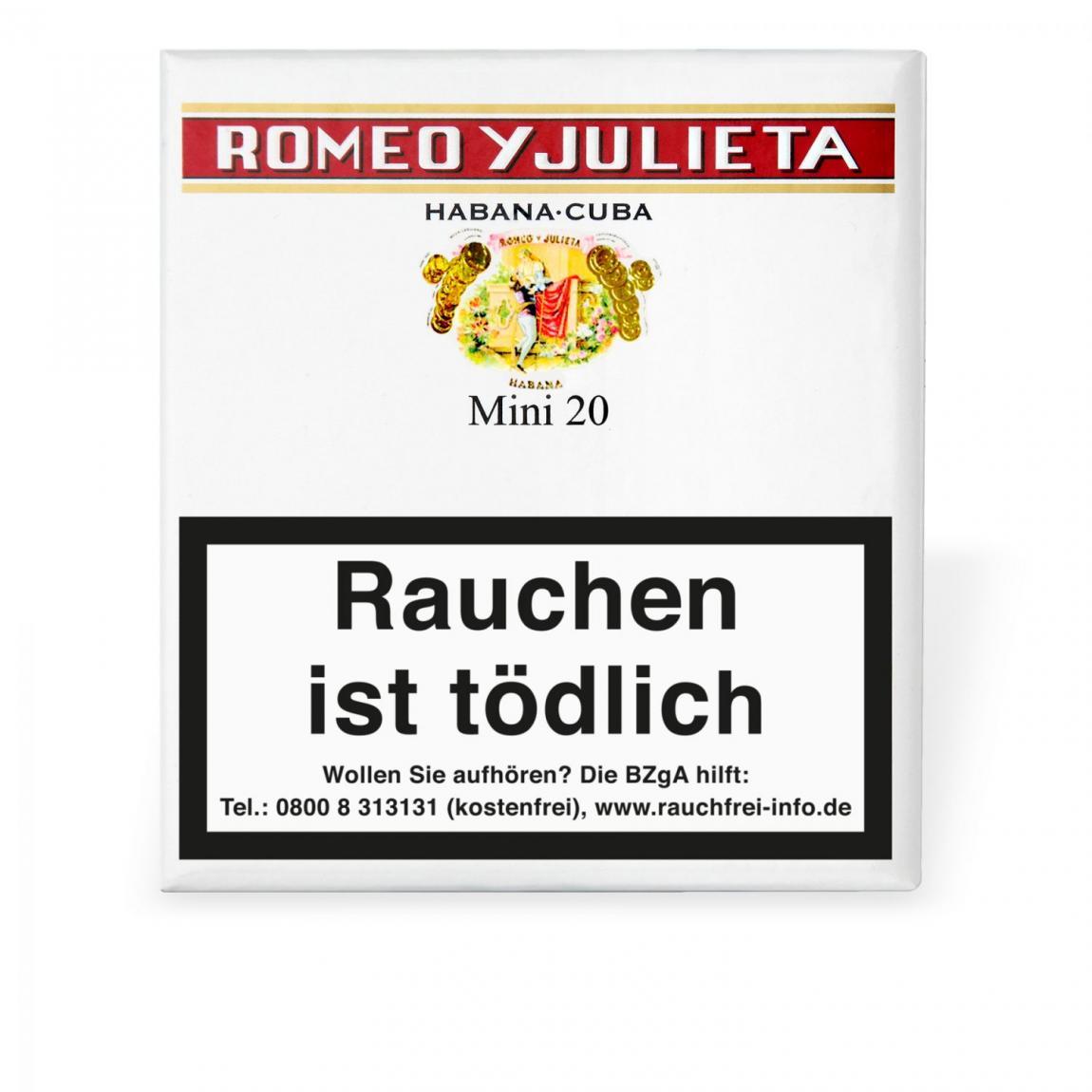 Romeo y Julieta Mini 20er Schachtel
