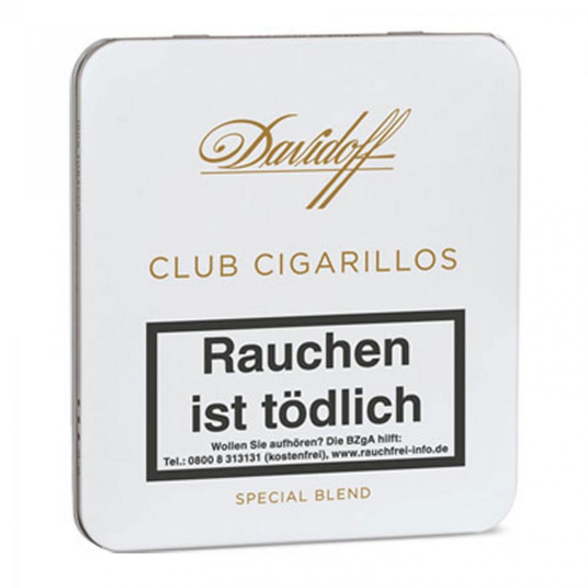 DAVIDOFF Club Cigarillos 10er Schachtel