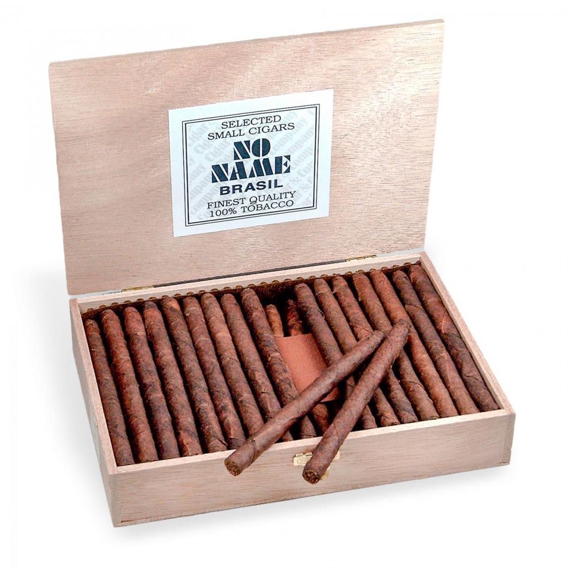 NO NAME Long Cigarillos Brasil 50er Kiste