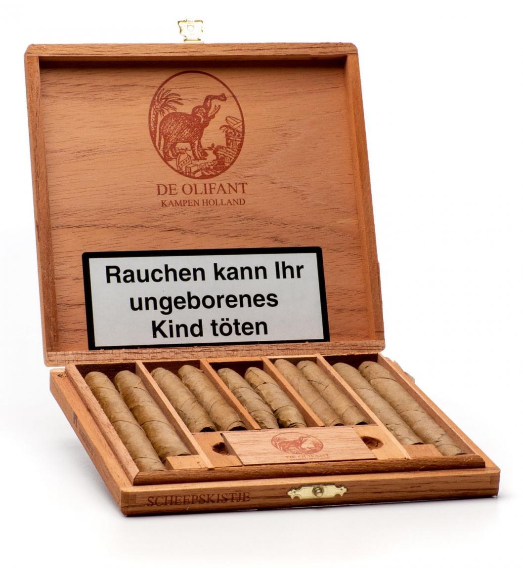 DE OLIFANT »Scheepskistje« Sortiment 10er Kiste