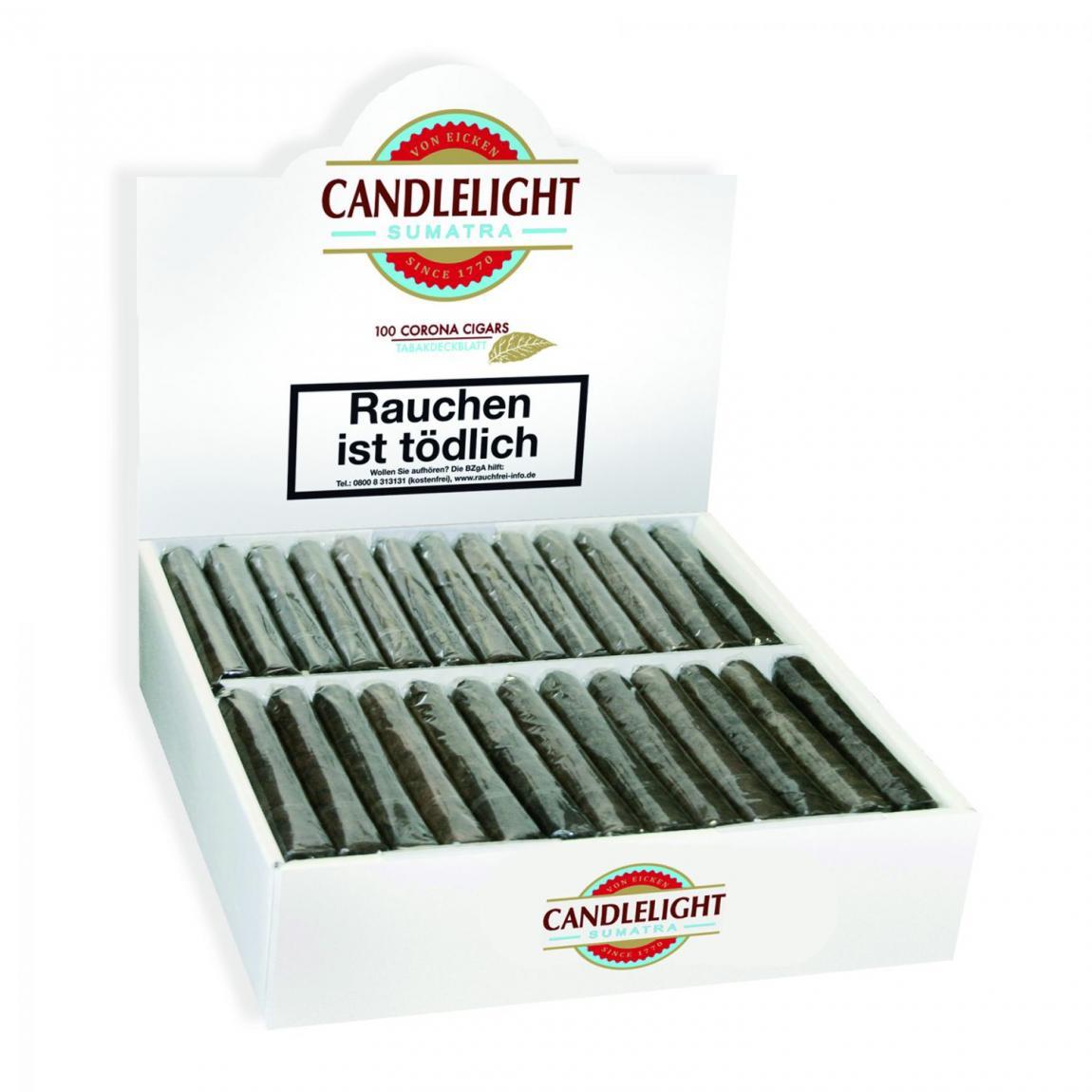Candlelight Coronas 100 Sumatra 100er Karton