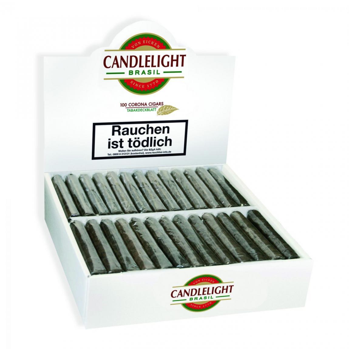 Candlelight Coronas 100 Brasil 100er Karton