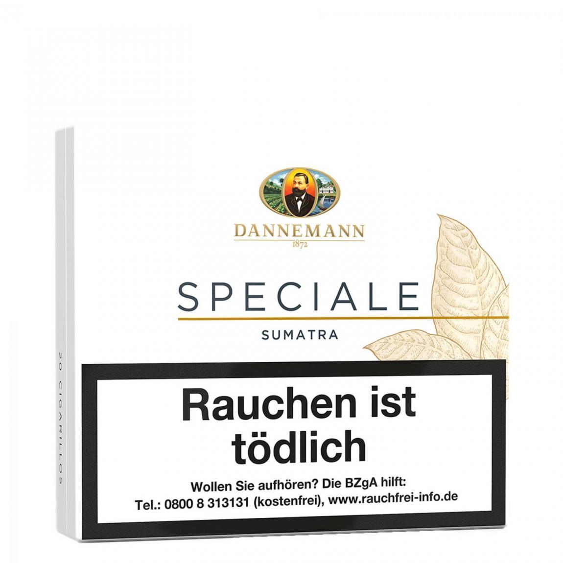 Dannemann »Speciale« Zigarillos Sumatra