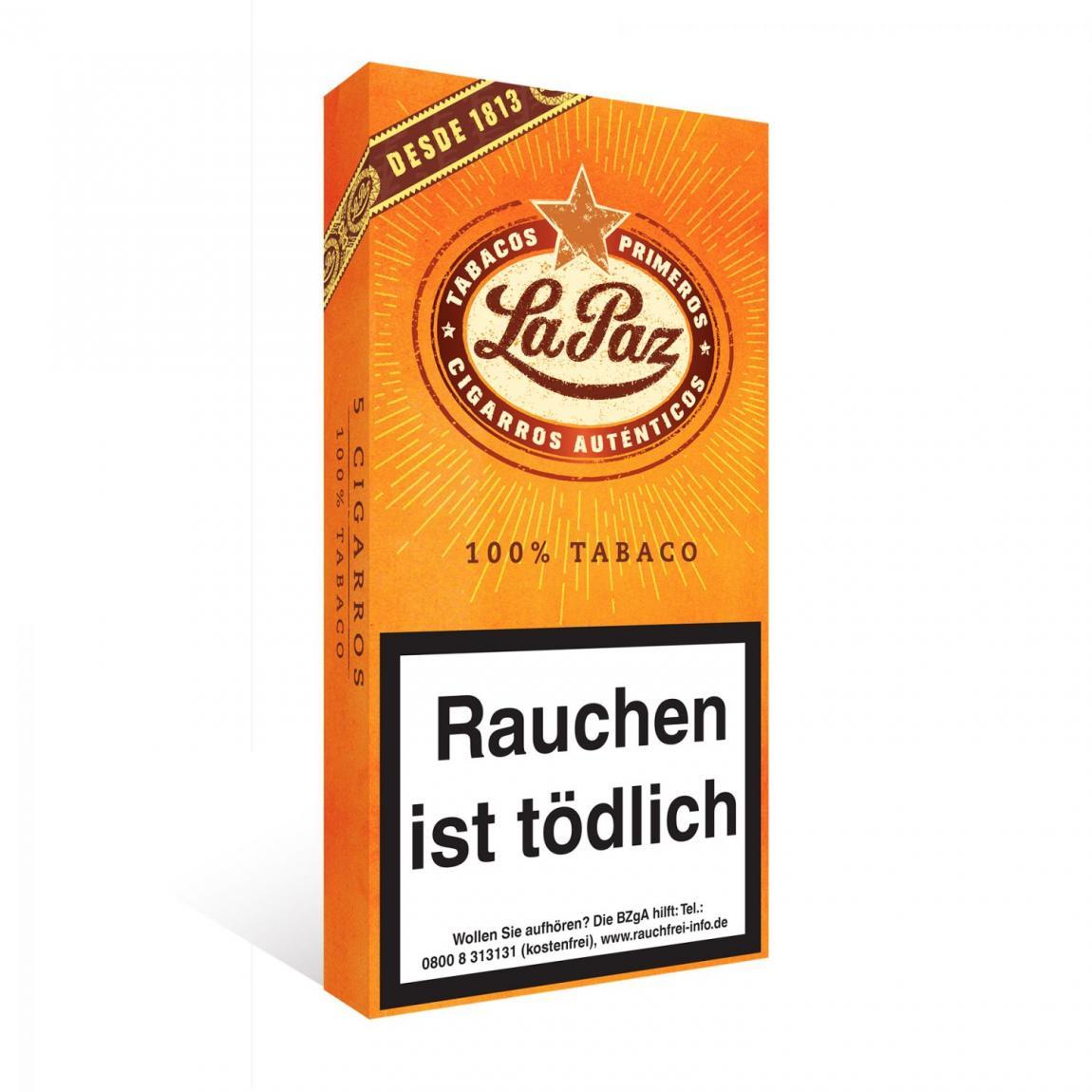 La Paz Cigarros Sumatra 5er Schachtel