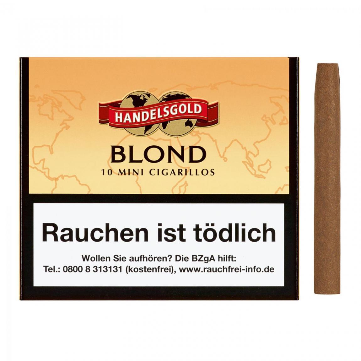 Handelsgold »Mini Blond« No. 261, 10er Schachtel