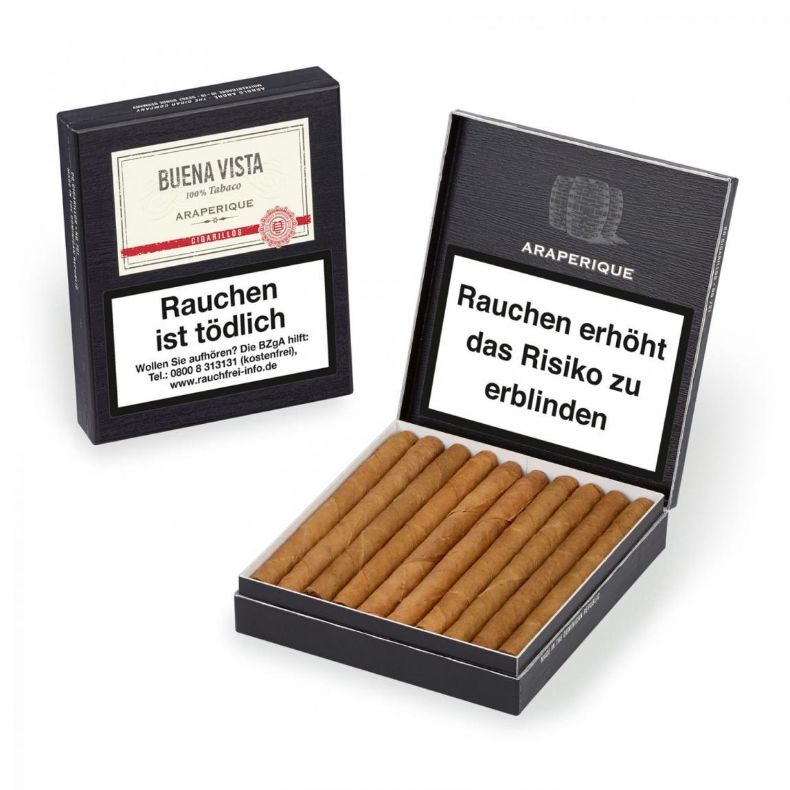 Buena Vista »Araperique« Cigarillos 20er Schachtel