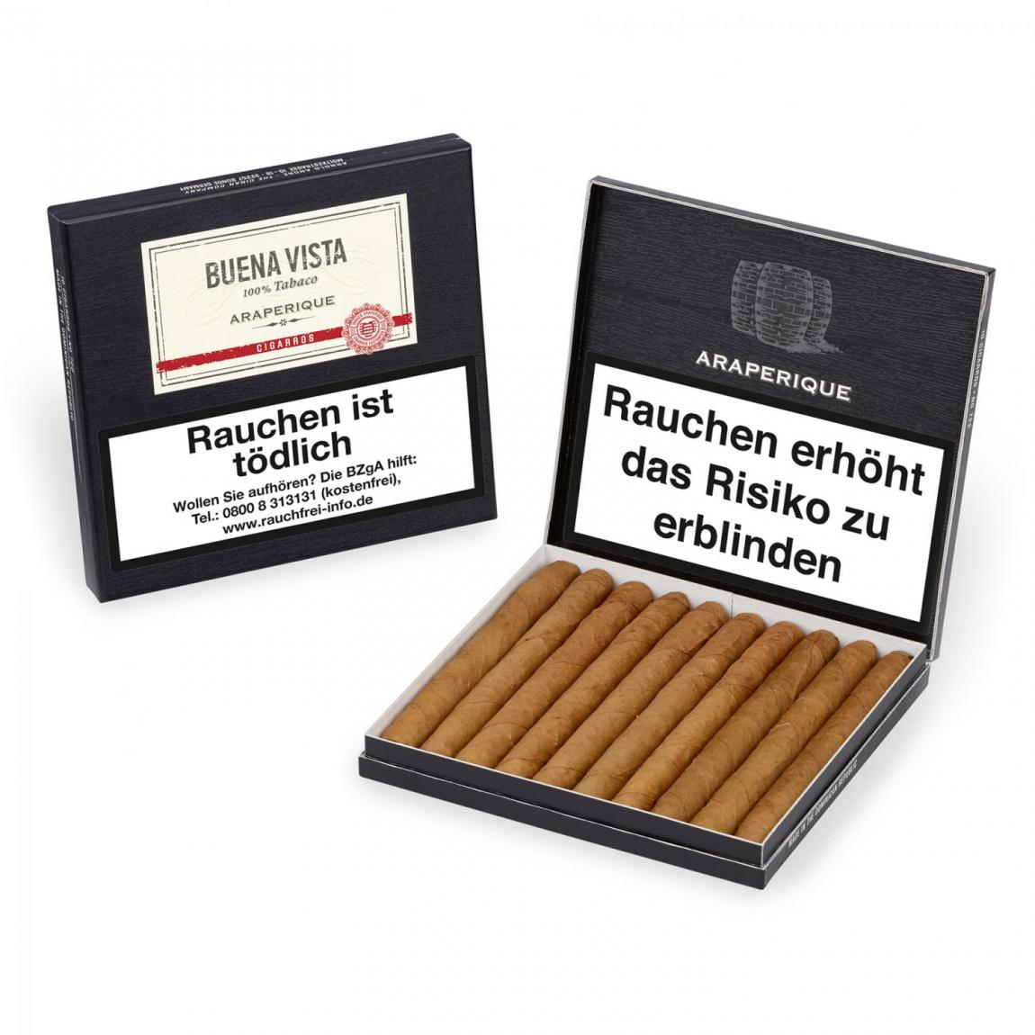 Buena Vista »Araperique« Cigarros 10er Schachtel