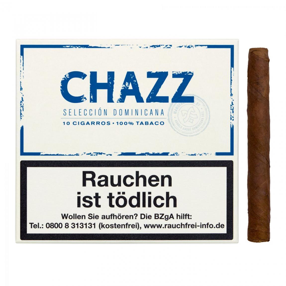 CHAZZ Cigarros - Seleccion Dominicana 10er Schachtel