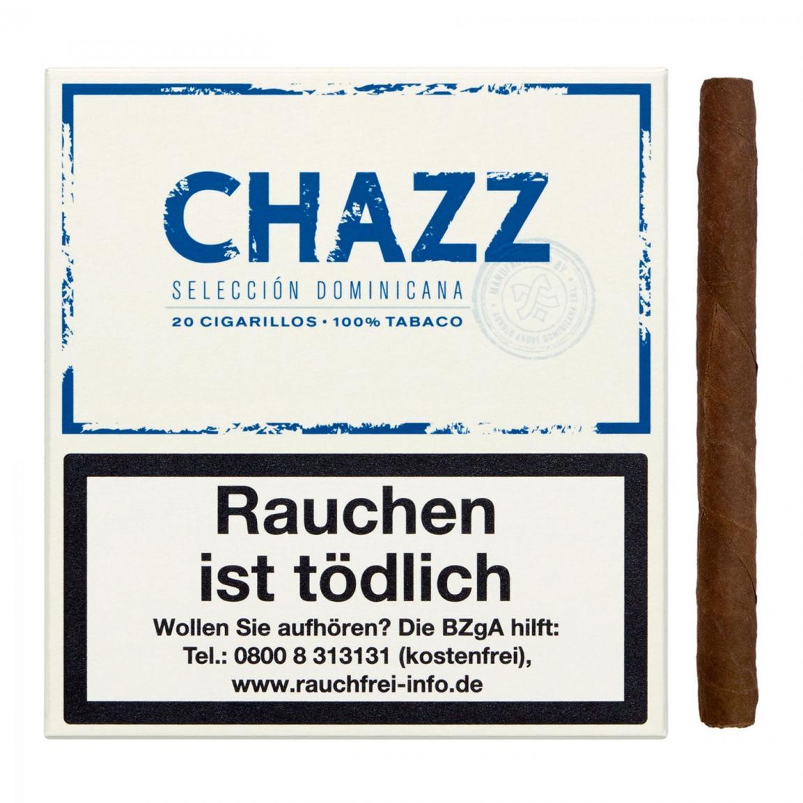 CHAZZ Cigarillos – Seleccion Dominicana 20er Schachtel